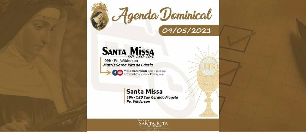 Santa Missa – 09/05/2021