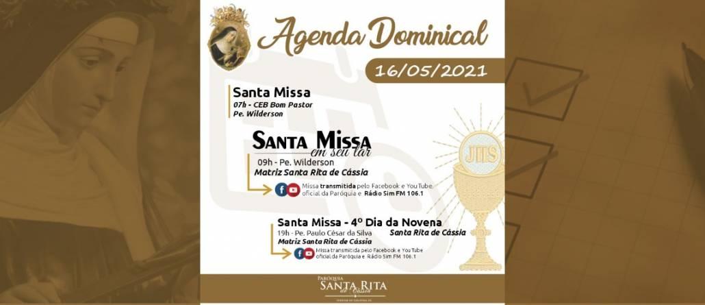 Santa Missa – 16/05/2021